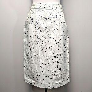Custom Made Leather Splatter Skirt